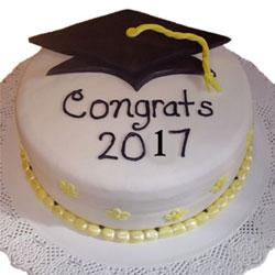 2kg Graduation Theme Cake