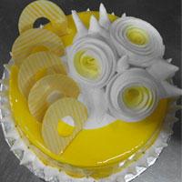Jell butter scotch cake