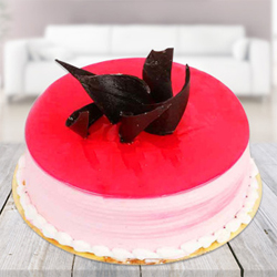 Strawberry  cake 500 Gms