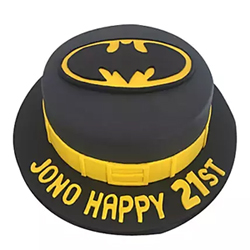 Batman Fondant Cake 2kg