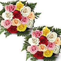 Mixed Roses bunches