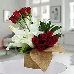 Delightful Flowers basket