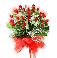 Beautiful 50 red roses