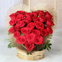 Heart shape basket